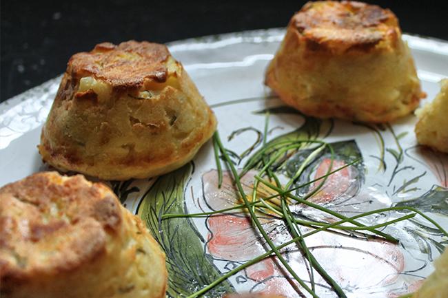 Tortini aneto e cipolla