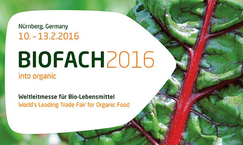 BIOFACH 2016 – Salone Leader Mondiale degli Alimenti Biologici – 27° edizione